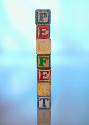 perfectionism spelled out