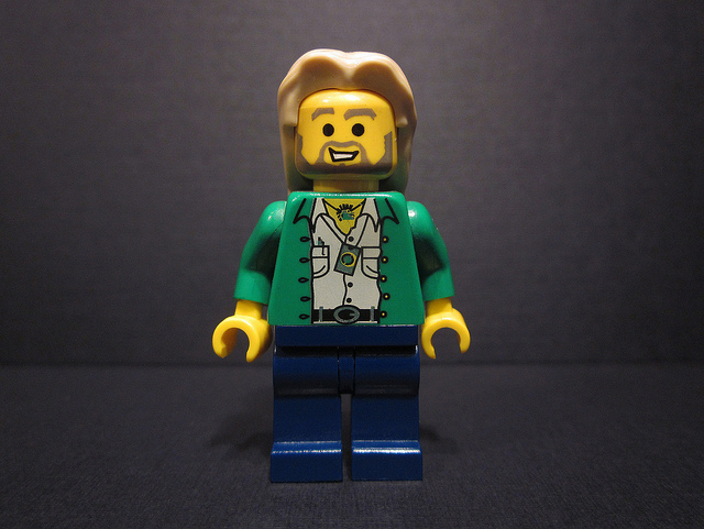 Richard Branson lego figure