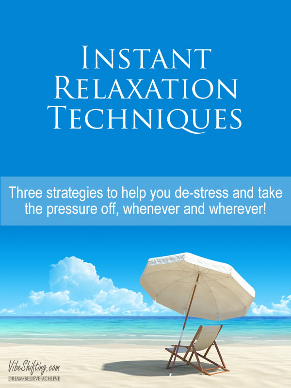 Instant relaxation techniques - Pinterest pin