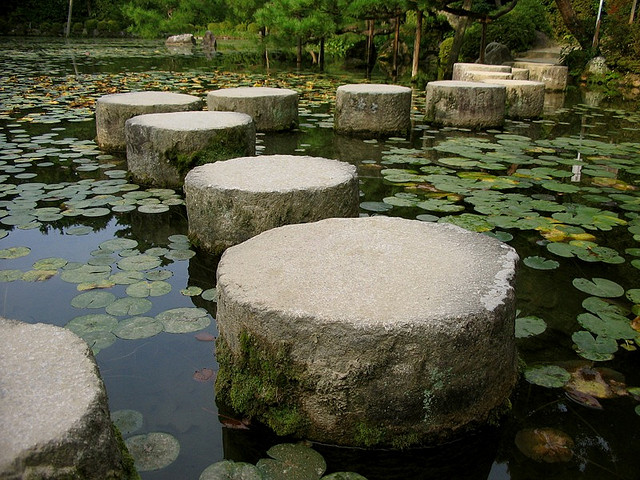 turn your doubts into stepping stones