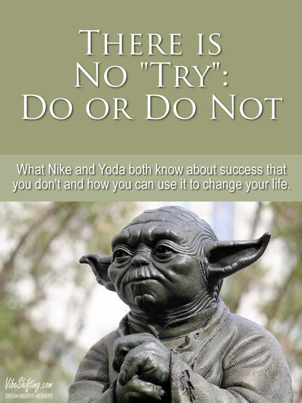There is No Try - Yoda - Pinterest image