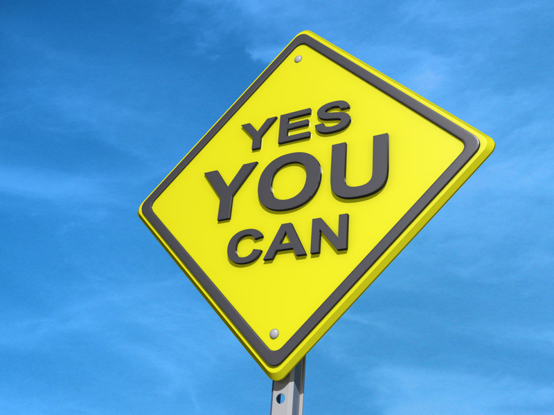 Strength Enough for This: Yes You Can