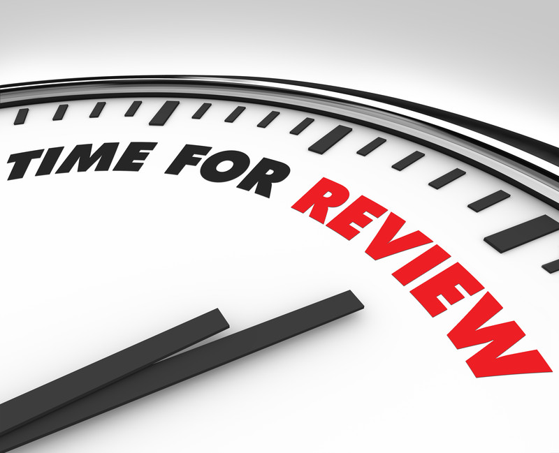 3 step year-end review process
