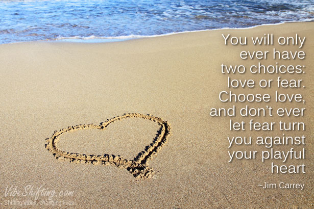 Love or fear; which one do you choose?
