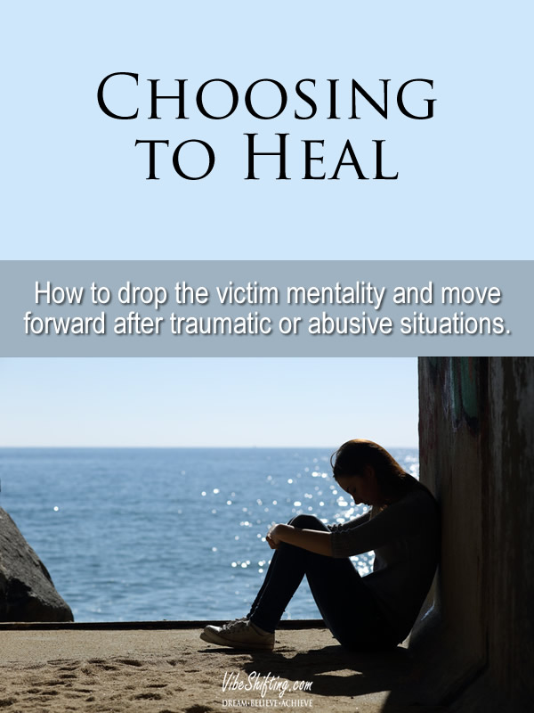 Choosing to Heal - Pinterest pin