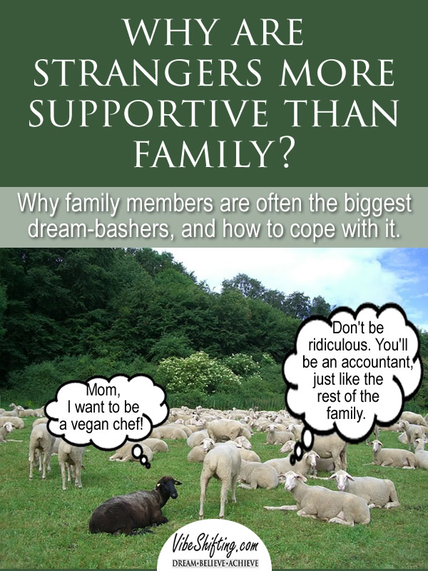 Why Are Strangers More Supportive Than Family?