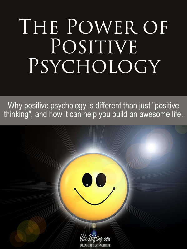 Power of Positive Psychology header image