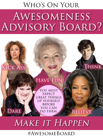 Example of an Awesomeness Advisory Board