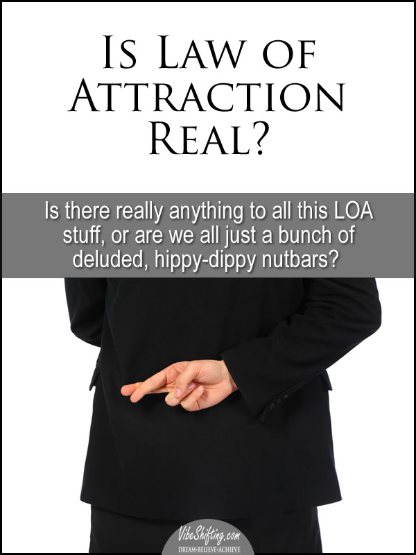Is Law of Attraction Real - pin