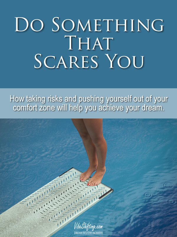 Do Something That Scares You - pin