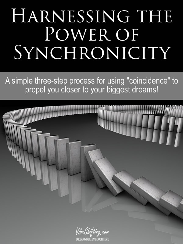 Harnessing the Power of Synchronicity - pin