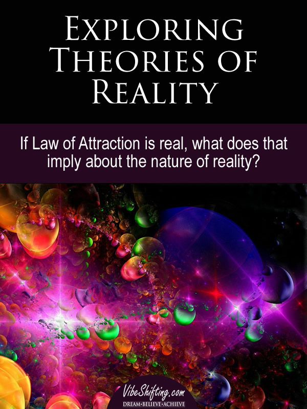 Exploring Theories of Reality - Pinterest pin