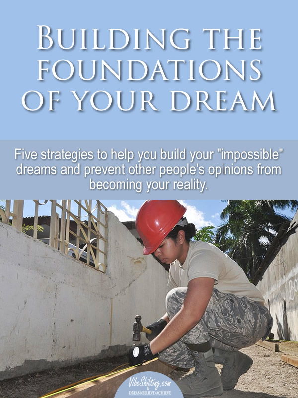 Building the Foundations of Your Dreams - Pinterest pin