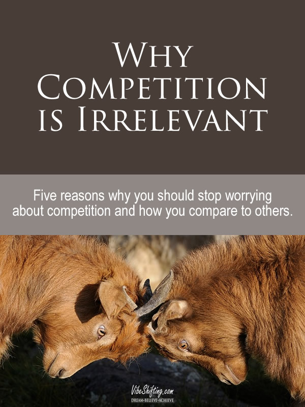 5 Reasons Why Competition is Irrelevant - Pinterest