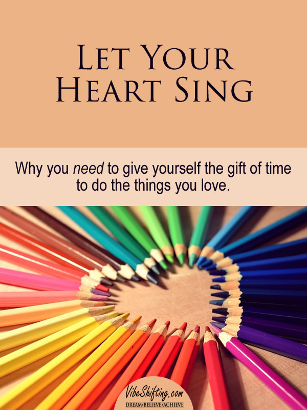 Let Your Heart Sing - Pinterest pin