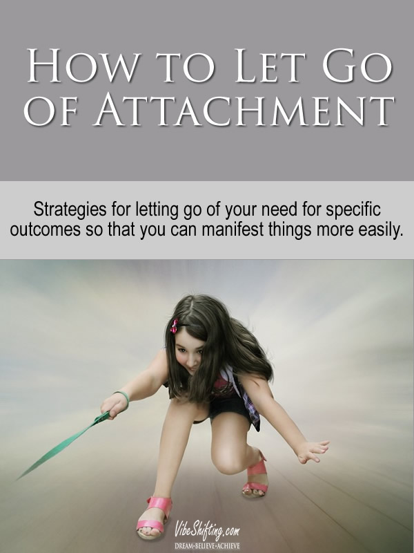 How to Let Go of Attachment - Pinterest pin