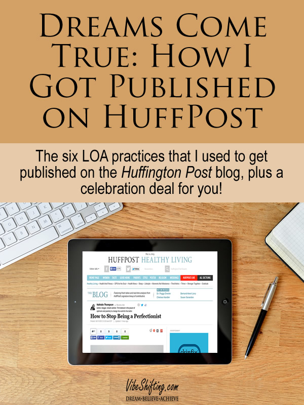 How I got published on HuffPost - Pinterest pin