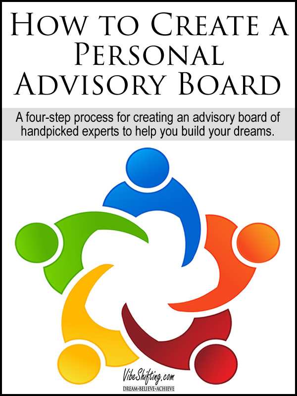 How to Create a Personal Advisory Board - Pinterest pin