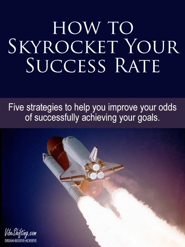 How to skyrocket your success rate - Pinterest pin