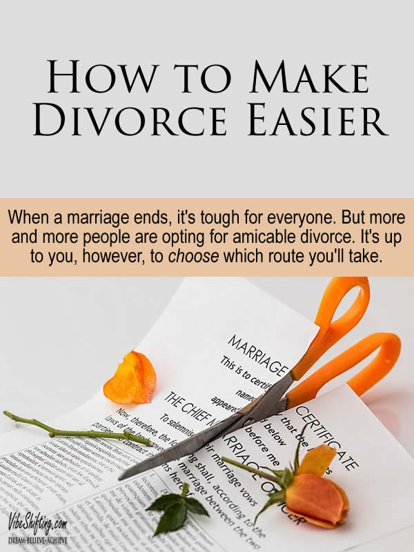 How to Make Divorce Easier - Pinterest pin