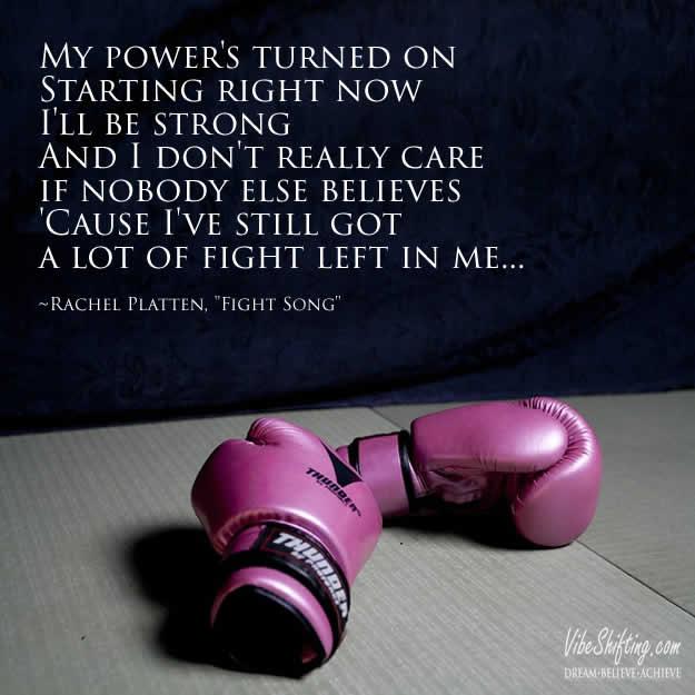 Fight song lyrics - pinterest