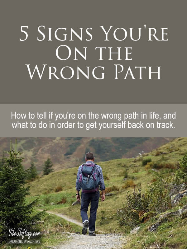 5 Signs You're On the Wrong Path - podcast episode