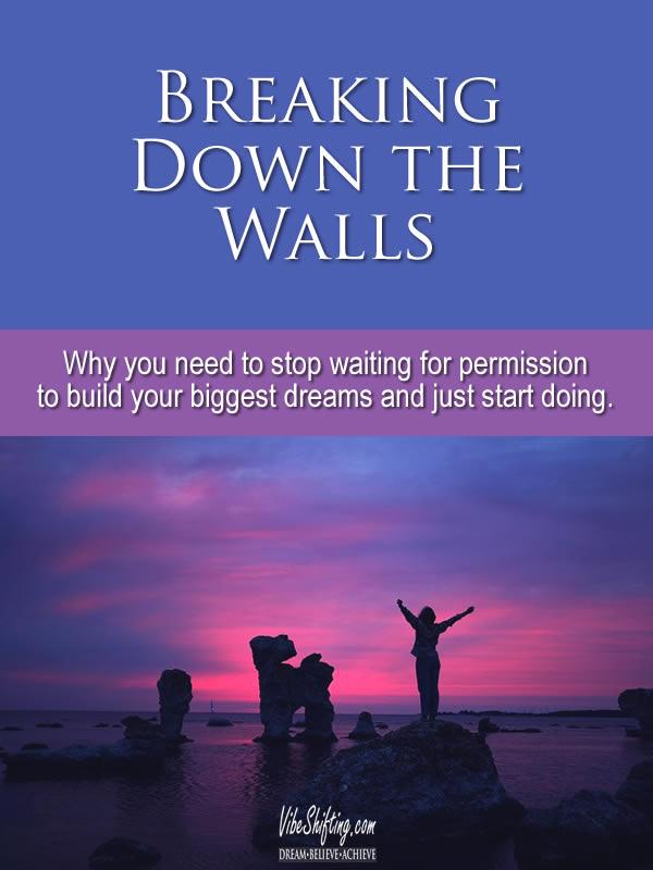 Breaking Down the Walls - Pinterest pin