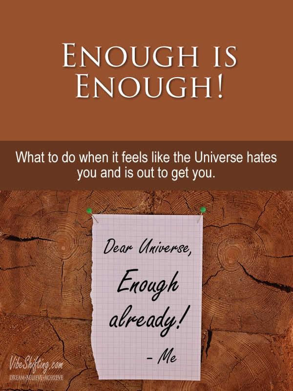 Enough is Enough - Pinterest pin