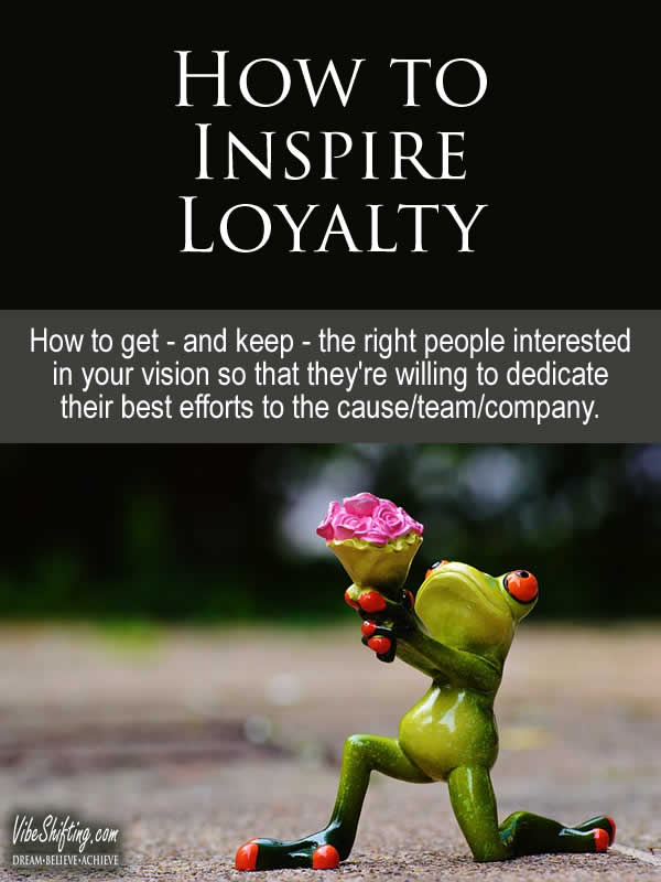 How to Inspire Loyalty - pinterest pin