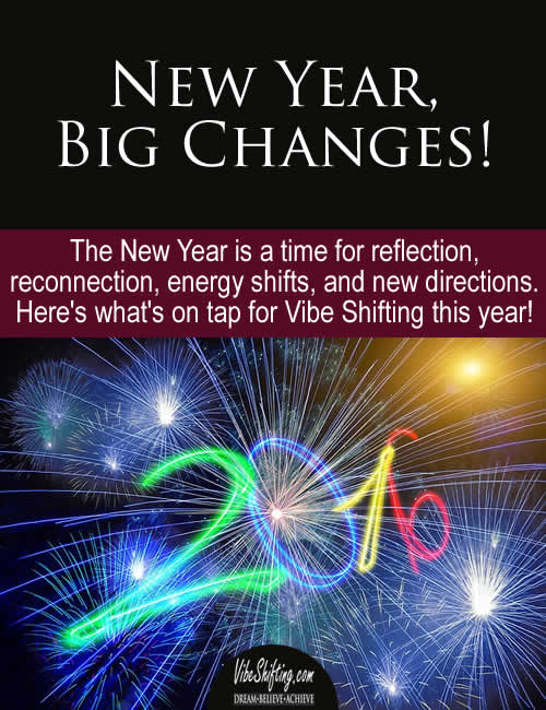 New Year Big Changes - Pinterest pin