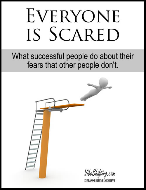 Everyone is Scared - Pinterest Pin