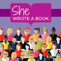 She Wrote a Book Logo