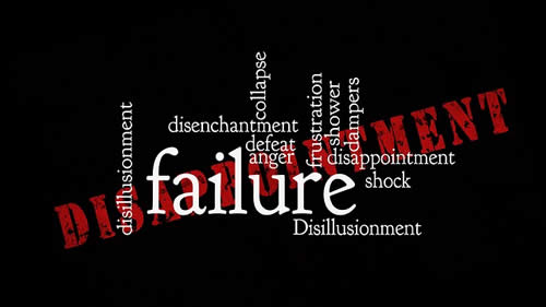 How to Deal With an Epic Failure