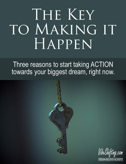 The Key to Making it Happen - Pinterest pin