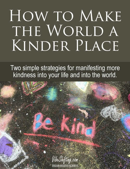 How to Make the World a Kinder Place - Pinterest pin