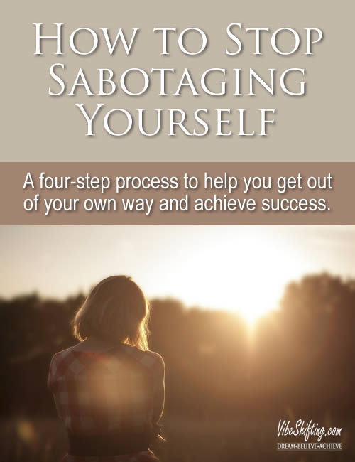 How to Stop Sabotaging Yourself - Pinterest pin