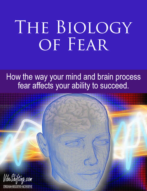 Ho the Biology of Fear affects your ability to successfully build your dreams