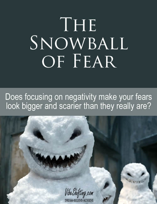 Does focusing on negativity create a snowball effect of fear?