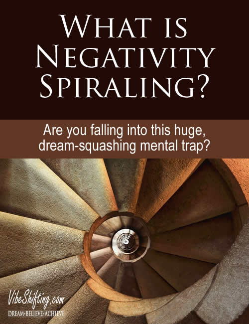 Are you falling into this negativity spiraling mind-trap?