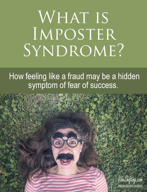 What is imposter syndrome - Pinterst pin