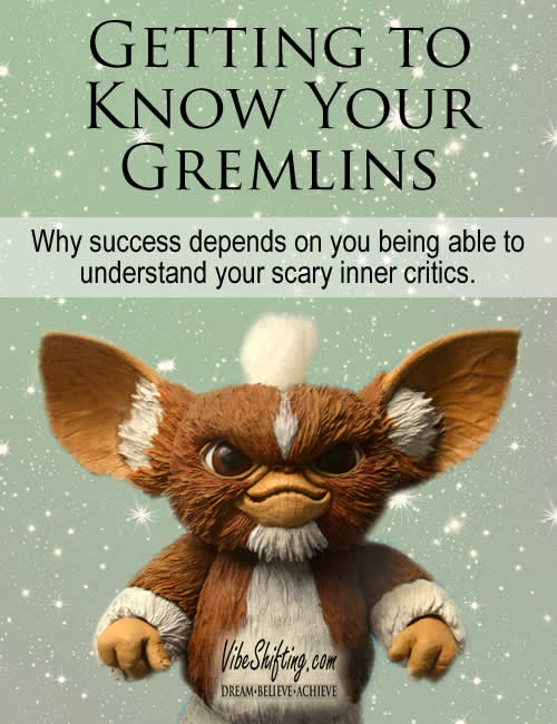 Getting to know your gremlins - Pinterest pin