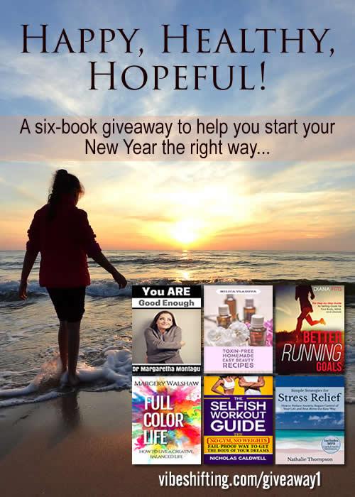 Happy, Healthy, Hopeful Book Giveaway - Pinterest