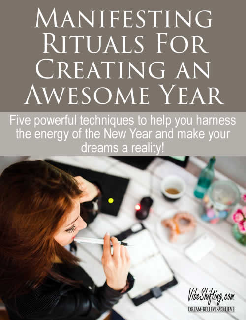 5 Manifesting Rituals for An Awesome New Year