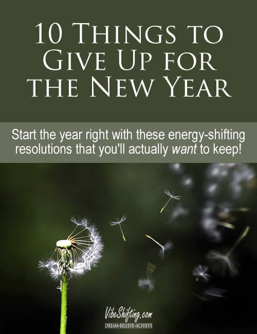 10 Things to Give Up for the New Year - Pinterest