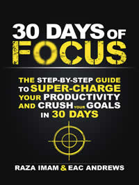 Get a free copy of 30 Days of Focus