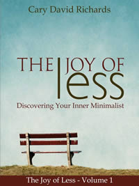 Get a free copy of The Joy of Less