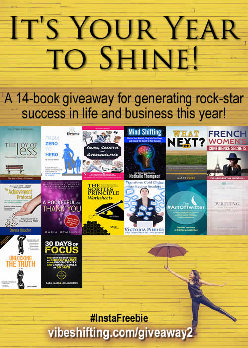 It's Your Year to Shine - Book Giveaway - Pinterest