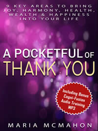 Get a free copy of Pocket Full of Thank You