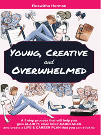 Get a free copy of Young, Creative, and Overwhelmed