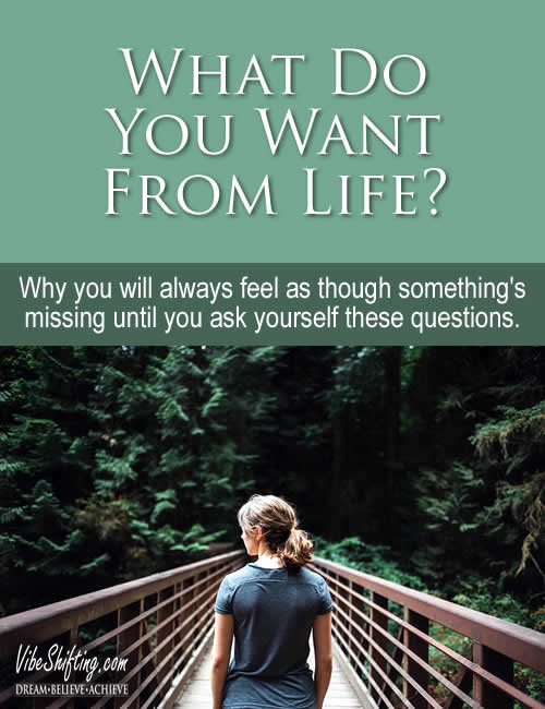 What do you want from life - Pinterest